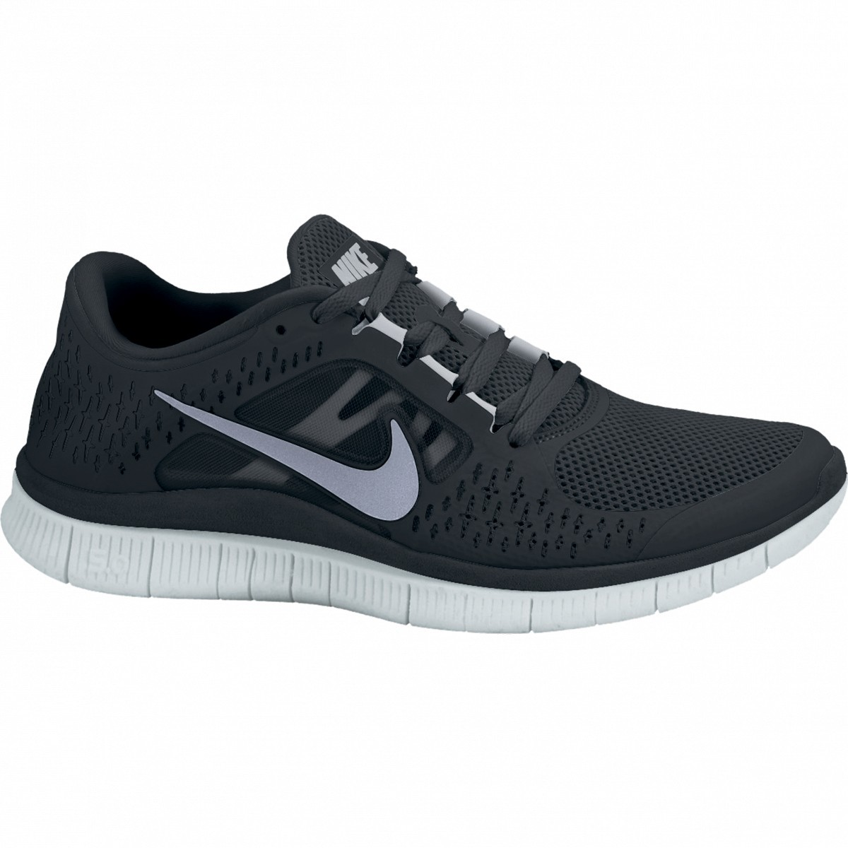 nike free run 3 herren laufschuh schwarz ebay. Black Bedroom Furniture Sets. Home Design Ideas