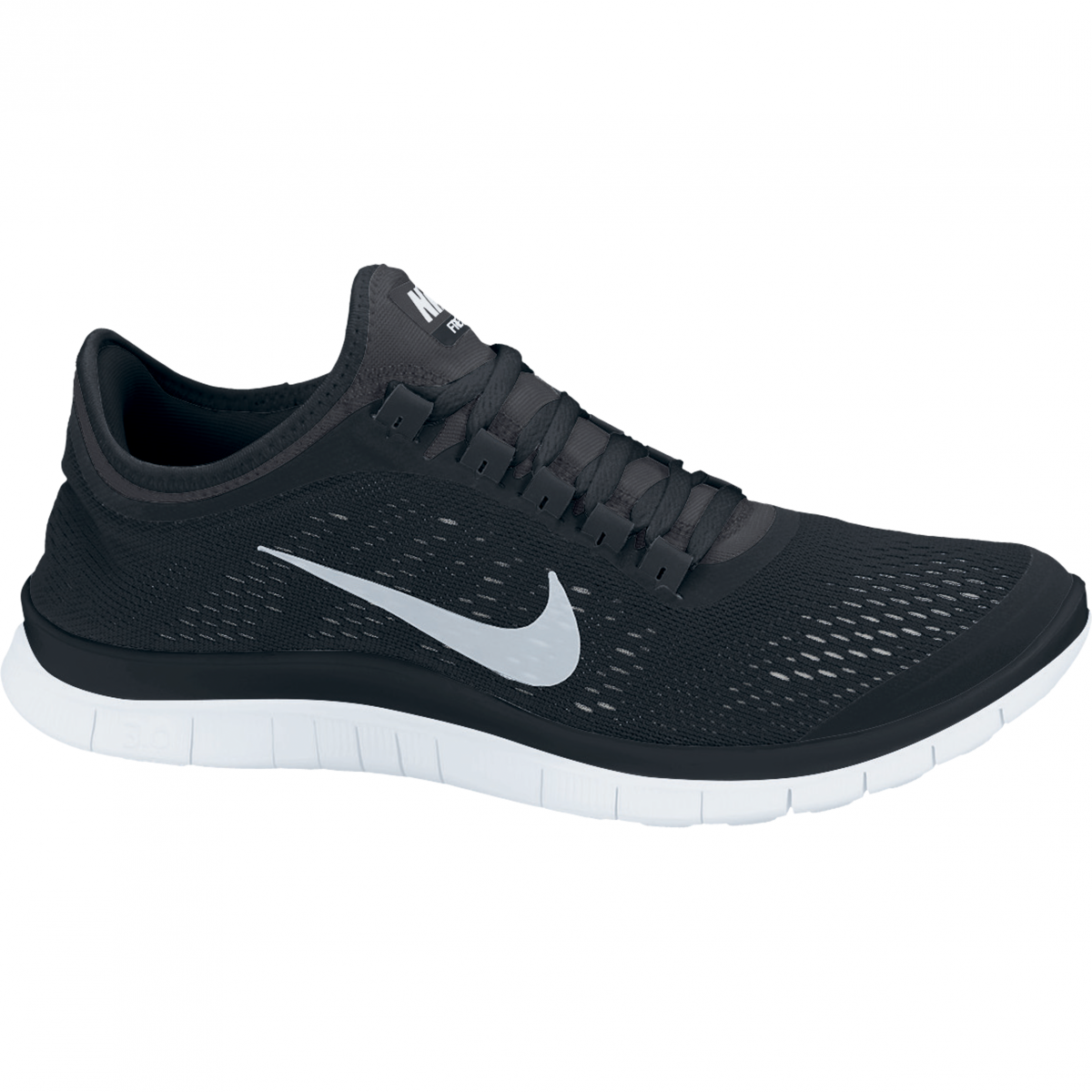 wmns nike free 3 0 v5 damen laufschuh schwarz. Black Bedroom Furniture Sets. Home Design Ideas
