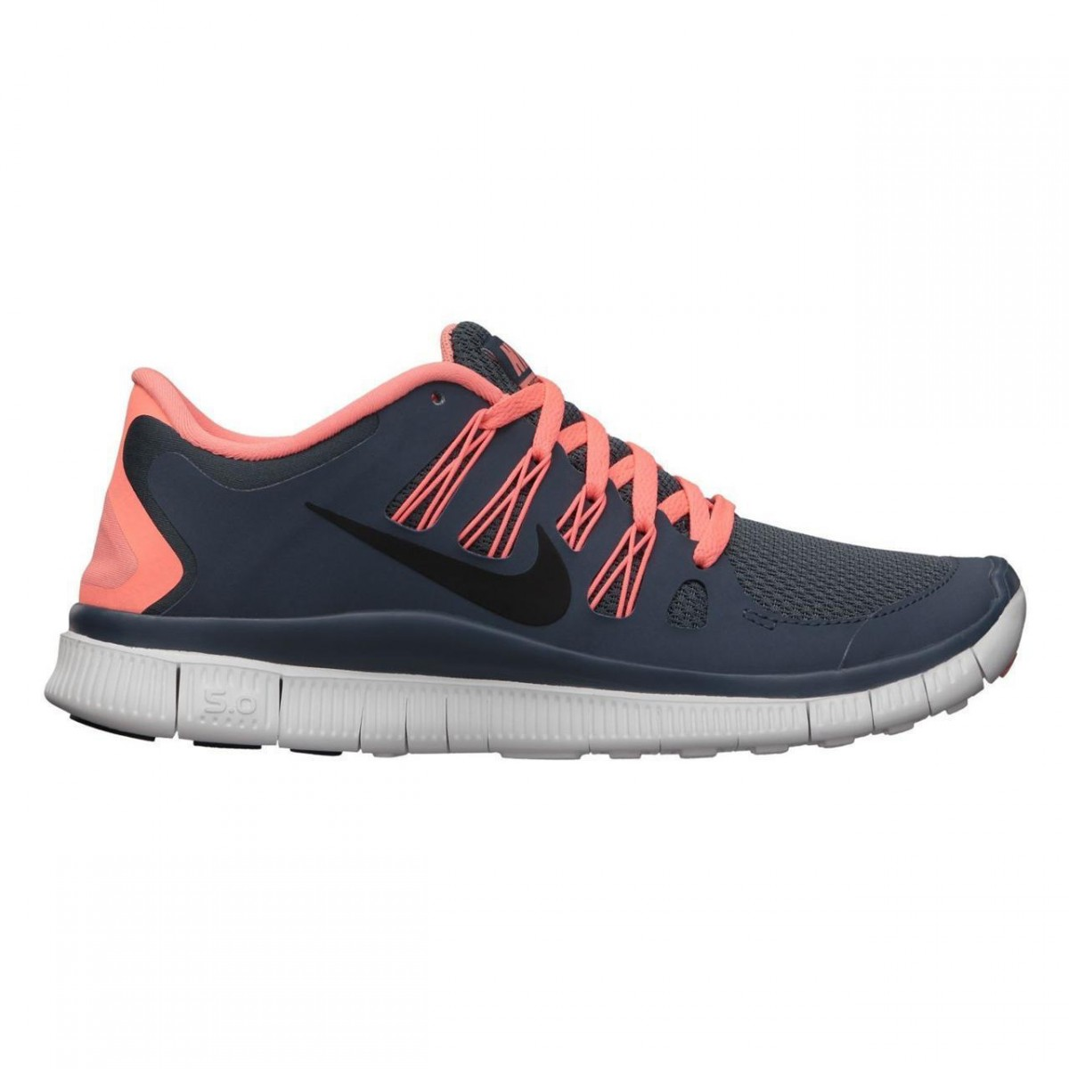 Nike Free Grau Orange Damen