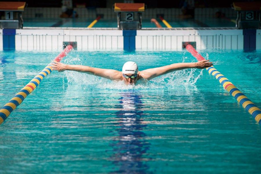 Muskeln Beim Schwimmen